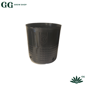Maceta soplada 3 Litros - Garden Glory Grow Shop