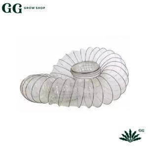 DUCTO TRANSPARENTE 4″ - Garden Glory Grow Shop