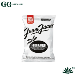 Fibra de Coco 25 lts 100% - Garden Glory Grow Shop