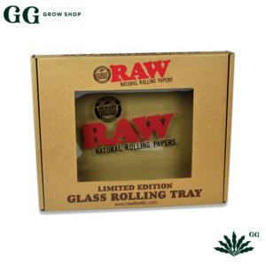Raw Bandeja Vidrio Limited - Garden Glory Grow Shop