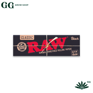 Raw Black 1 1/4 Seda - Garden Glory Grow Shop