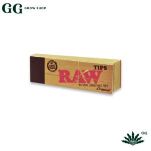 Raw Tips Carton Filtros Original - Garden Glory Grow Shop