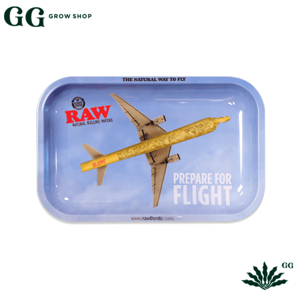 Raw Bandeja Avion Fly Chica - Garden Glory Grow Shop