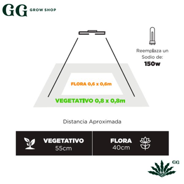 Master Led MX50 GS Iluminaciones - Garden Glory Grow Shop